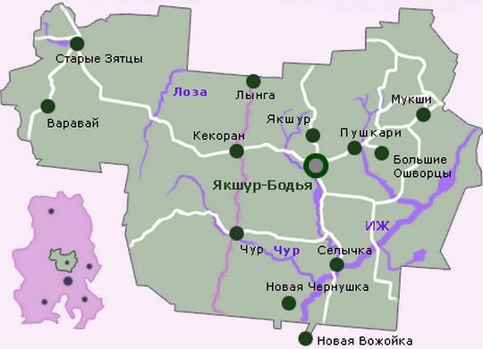 Регион - удмуртская республика район - якшур-бодьинский район населенный пункт - д лумпово почтовый индекс